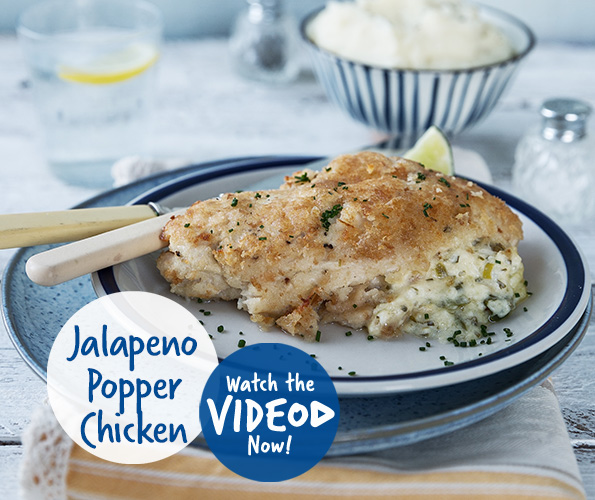 Philadelphia Jalapeno Popper Chicken
